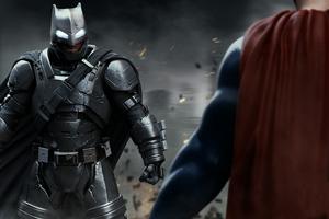 Batman Vs Superman 4k Art