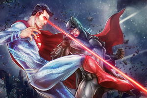 Batman Vs Superman Arts