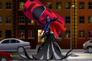Batman VS Superman Battle