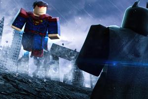 Batman Vs Superman Lego 4k