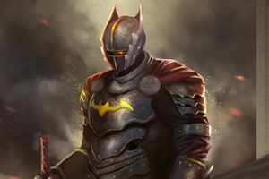 Batman Warrior Wallpaper