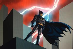 Batman Watching City