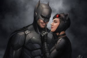 Batman With Catwoman