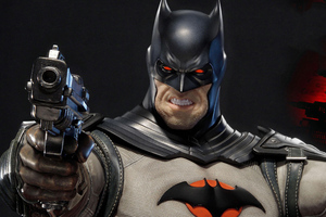 Batman With Gun