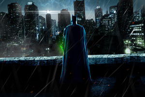 Batman With Kryptonite Wallpaper
