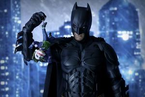 Batman With Little Joker Toy