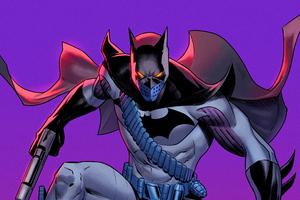 Batman With Two Guns 4k
