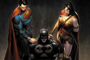 Batman Wonder Woman Superman Together Wallpaper