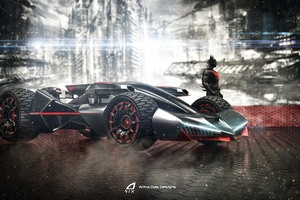 Batmobile Beyond 4k