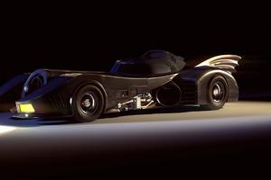 Batmobile Rendered 4k