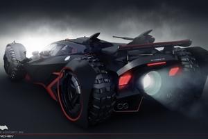 Batmobile V12 Concept