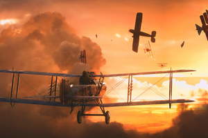 Battlefield 1 Battle Flight 4k