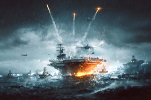 Battlefield 4 Naval Strike 4k Wallpaper