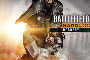Battlefield Hardline Robbery Game Wallpaper