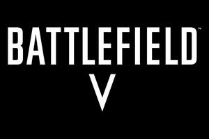Battlefield V Logo 4k