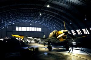 Battlefield V Plane Hangar 4k