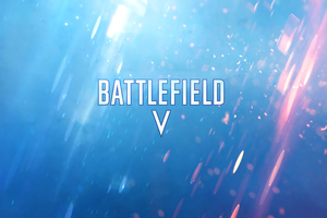 Battlefield V Video Game Logo