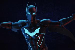 Batwing Neon 4k Wallpaper