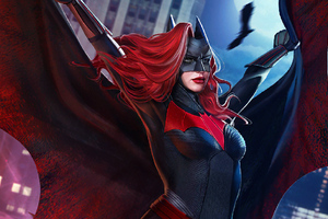 Batwoman Artnew Wallpaper