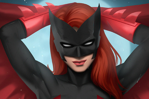 Batwoman Dc Comic Girl 5k