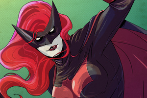 Batwoman New Artwork Wallpaper