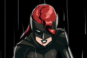 Batwoman Red Blood 4k Wallpaper