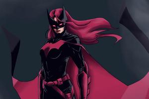 Batwoman Red Suit 4k Wallpaper