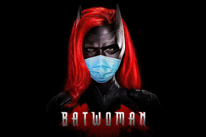 Batwoman Safety Mask 4k Wallpaper