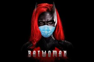 Batwoman Safety Mask 4k
