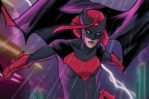 Batwoman Sketch Art 4k Wallpaper