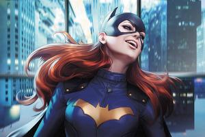 Batwoman Smiling