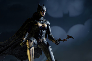 Batwoman With Batarang 4k Wallpaper