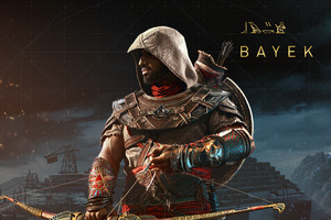 Bayek Assassins Creed Origins 8k Wallpaper