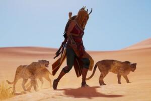 Bayek Assassins Creed Origins Ubisoft 5k