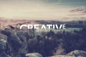 Be Creative Wallpaper