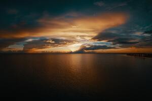 Beach Clouds Seascape Horizon 10k Wallpaper