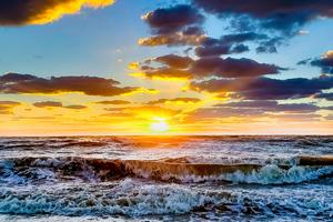 Beach Sea Spain Winter