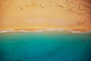 Beach Shoreline Wallpaper