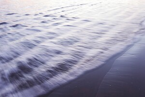 Beach Water Currents Wallpaper