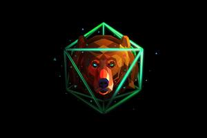 Bear Justin Maller 4k Wallpaper
