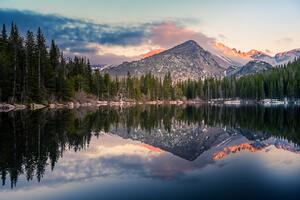 Bear Lake Reflection At Rocky Mountain National Park 4k Wallpaper