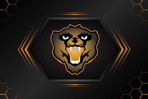 Bear Minimal 4k Wallpaper
