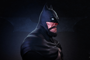 Bearded Batman New