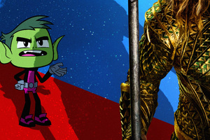 Beast Boy In Teen Titans Go To The Movies 2018 Movie