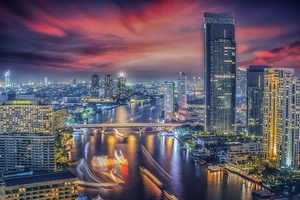 Beautiful Bangkok City