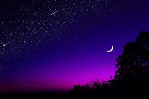 Beautiful Blue Purple Sky 4k Wallpaper