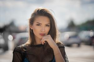 Beautiful Girl Outdoors 5k Wallpaper
