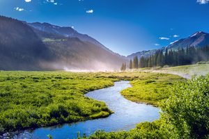 Beautiful Greenery Landscape Wallpaper