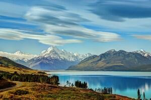 Beautiful Lake New Zealand 4k