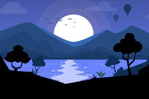 Beautiful Landscape Minimal 4k